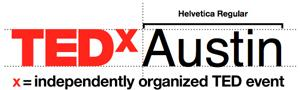 Example logo: TEDxAustin