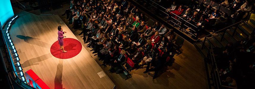 TEDWomen stage