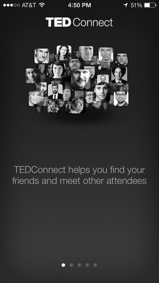 TEDConnect screenshot 2