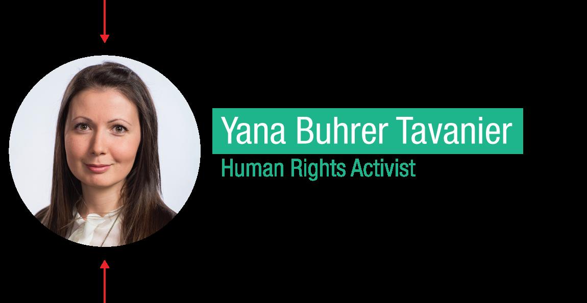 TED Fellow: Yana Buhrer Tavanier