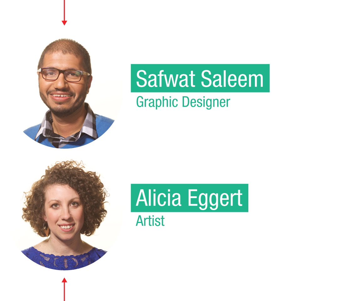 TED Fellow: Alicia Eggert + Safwat Saleem