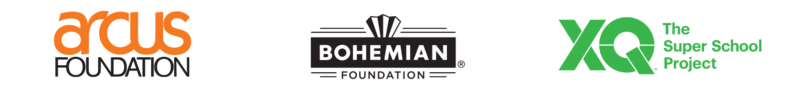 arcus foundation logo, bohemian foundation logo, XQ logo