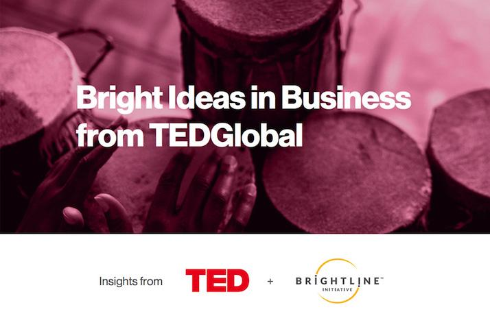 Bright Ideas in Business from TEDGlobal