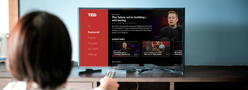 TED Smart TV Apps