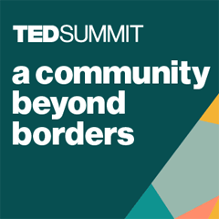 TEDSummit 2019: A community beyond borders.