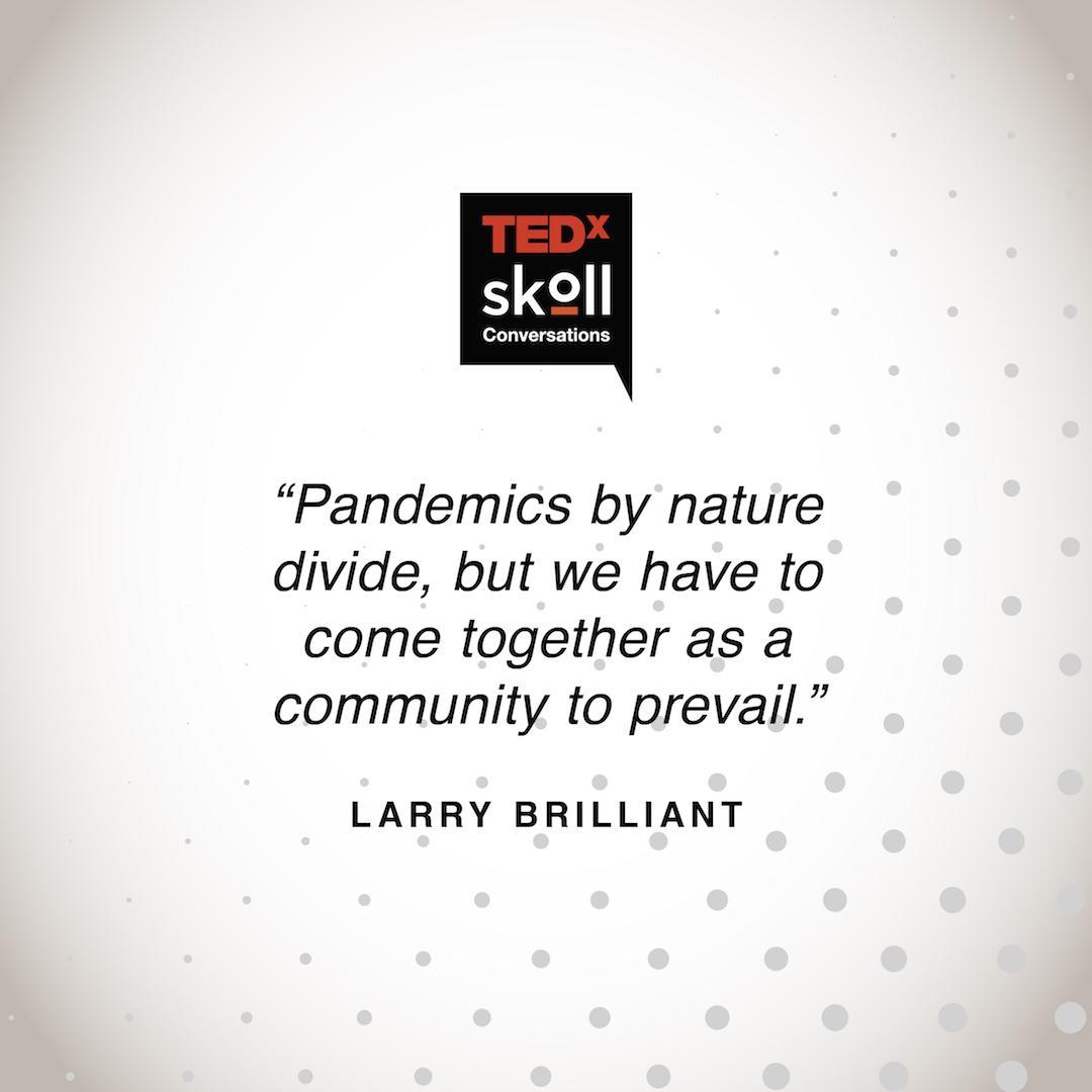 TEDx Skoll ad
