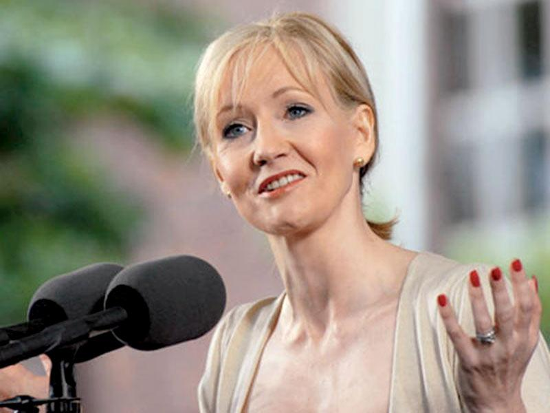 Image result for jk rowling harvard speech