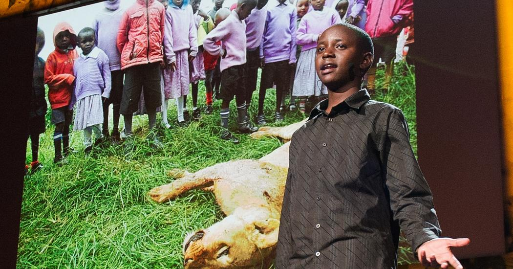 Richard Turere: My invention that made peace with lions | TED Talk