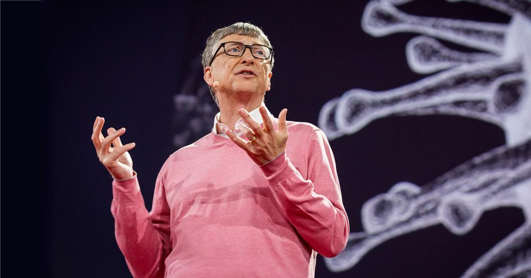 Image result for bill gates ted talk