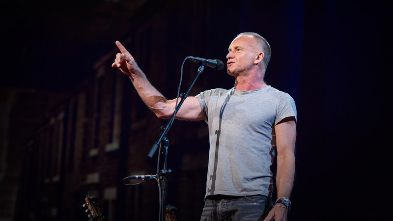 Sting: How I started writing songs again   TED Talk   TED.com