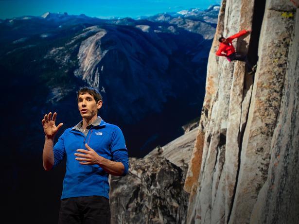 3,000피트(약 914m) 절벽을 로프 없이 오른 이야기 | Alex Honnold
