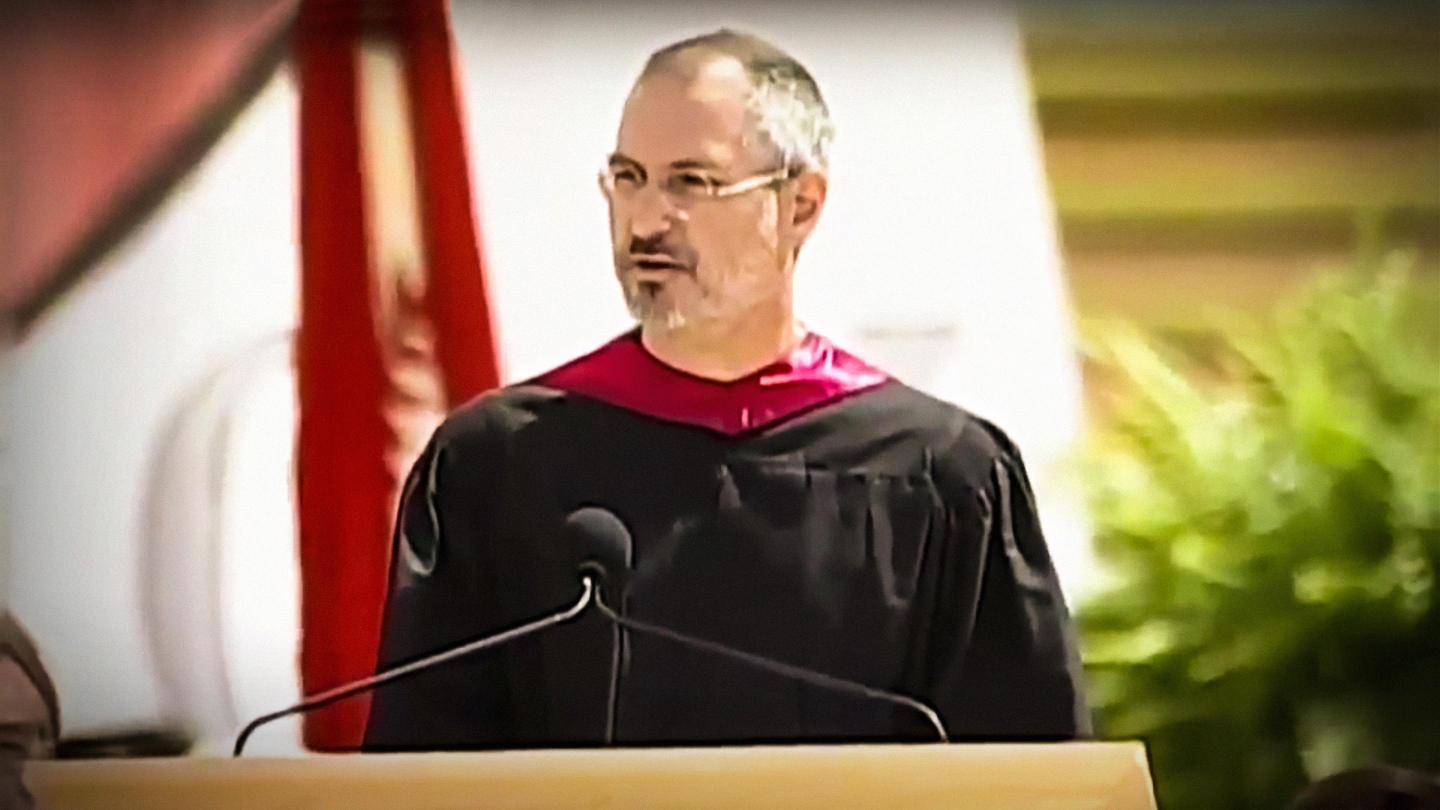 "steve jobs commencement speech s review Steve jobs delivered his speech stay hungary, stay foolish to the graduates of  stanford university  positives: nailed it  audience: ""i am honored to be with  you today for your commencement from one of the finest universities in the world."