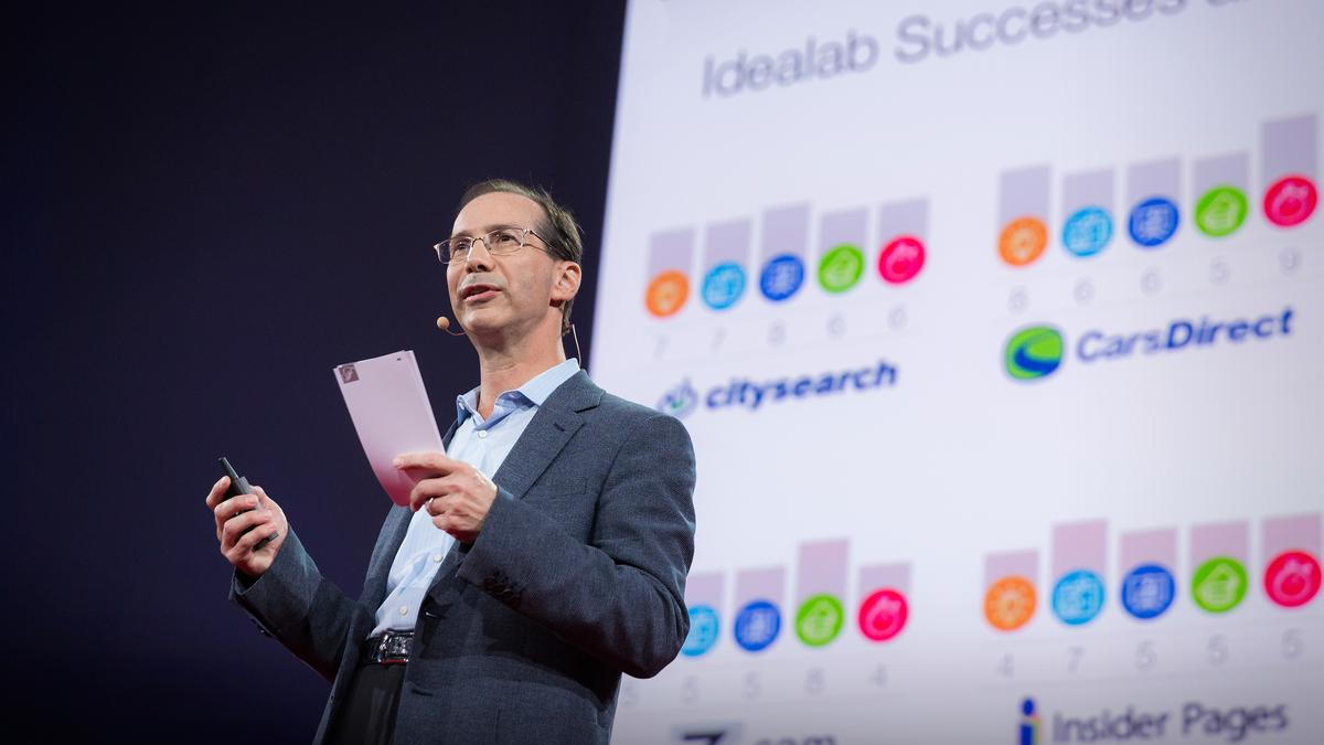 Bill Gross: The single biggest reason why startups succeed | TED Talk