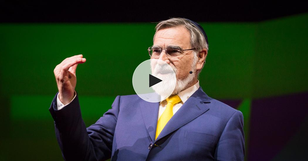 1d845530a3 Rabbi Lord Jonathan Sacks  How we can face the future without fear