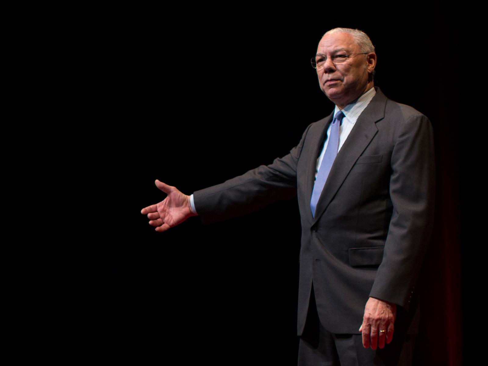 talks com colin powell