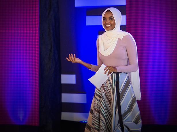 How I went from child refugee to international model | Halima Aden