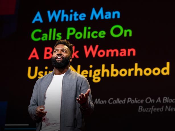 كيف يمكننا تفكيك العنصرية، عنوان إخباري وراء الآخر | Baratunde Thurston