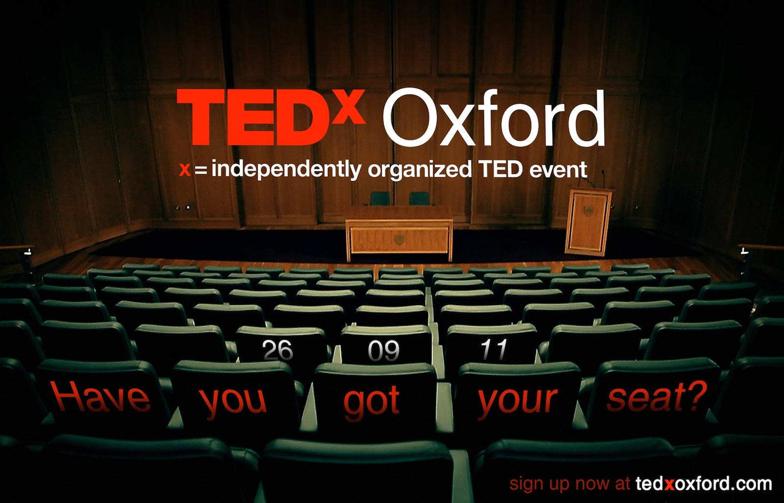 Image result for tedX oxford