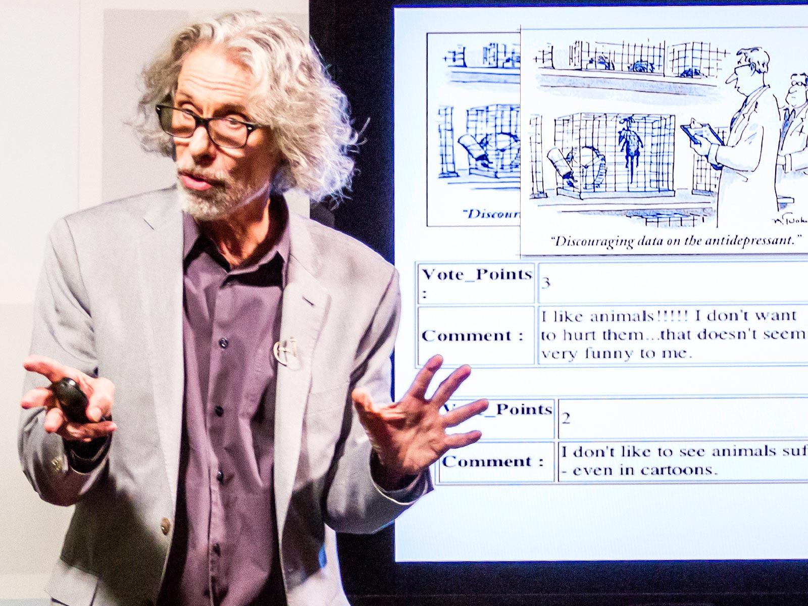 Bob Mankoff: Anatomy of a New Yorker cartoon | TED Talk