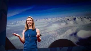クリスティン・ポイナーグリーンランドの氷床の下に何が隠されているのか?