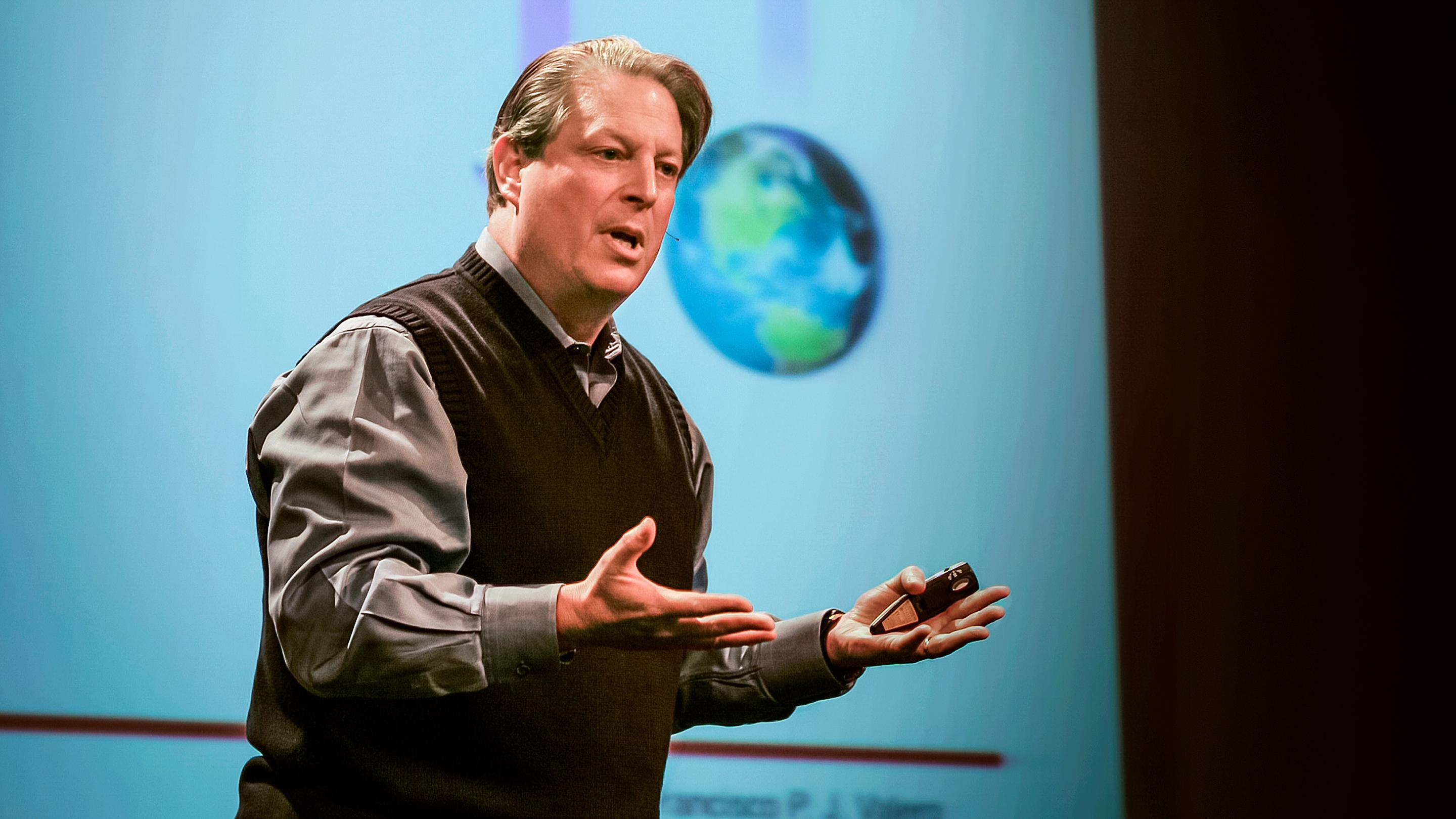 Resultado de imagen de The Climate Project set up by Al Gore