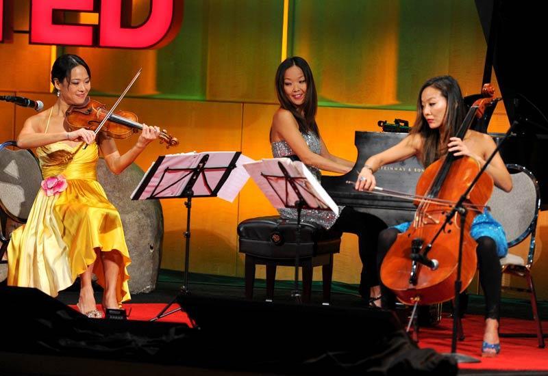 A modern take on piano, violin, cello