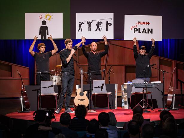 كيف تجد فكرة مذهلة. | OK Go