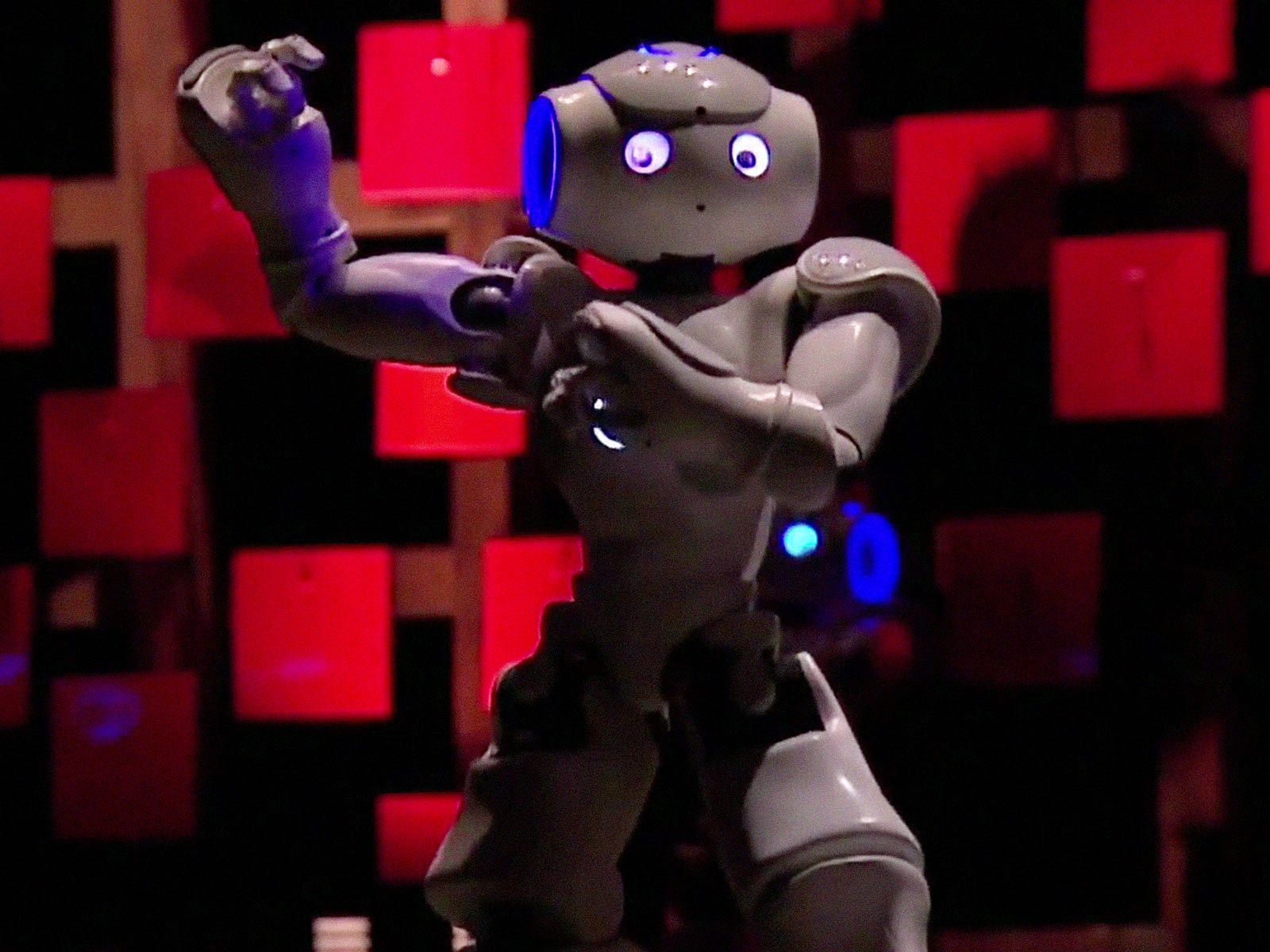 Bruno Maisonnier Dance Tiny Robots Ted Talk