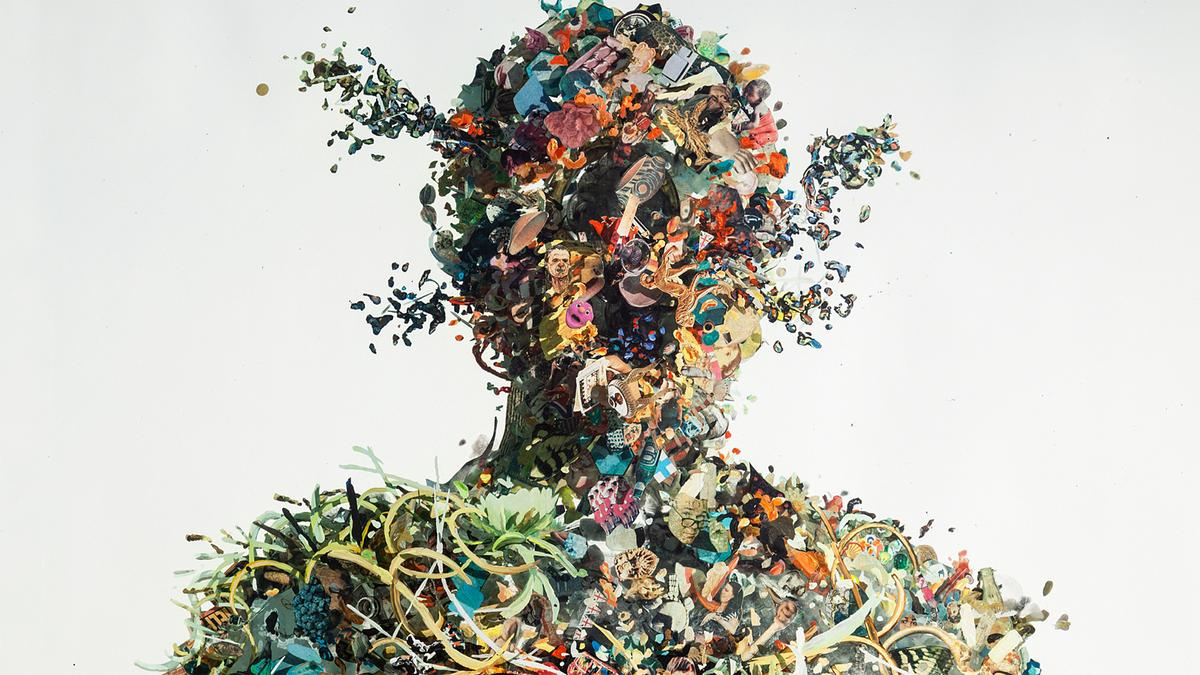 dustin yellin a journey through the mind of an artist ted talk