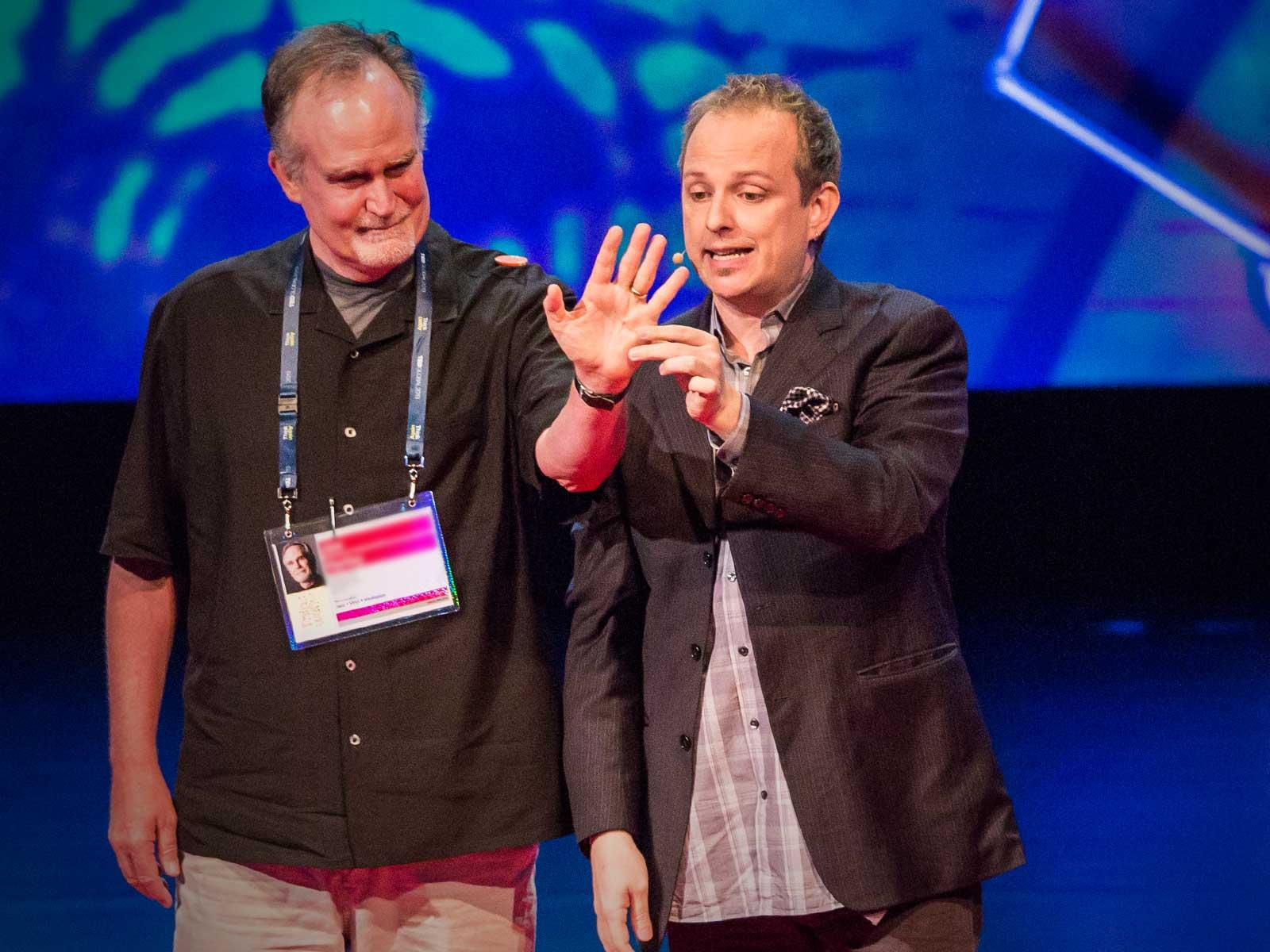 Image result for apollo robbins ted talk