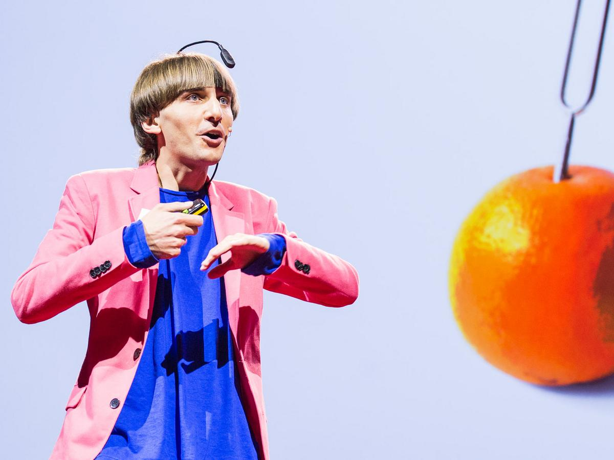 Neil Harbisson: I listen to color | TED Talk