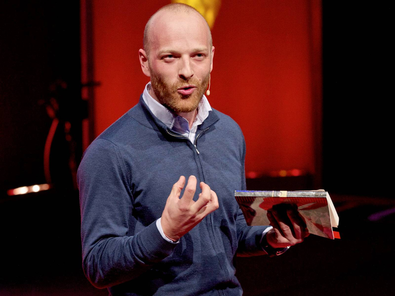how to give a ted talk funny
