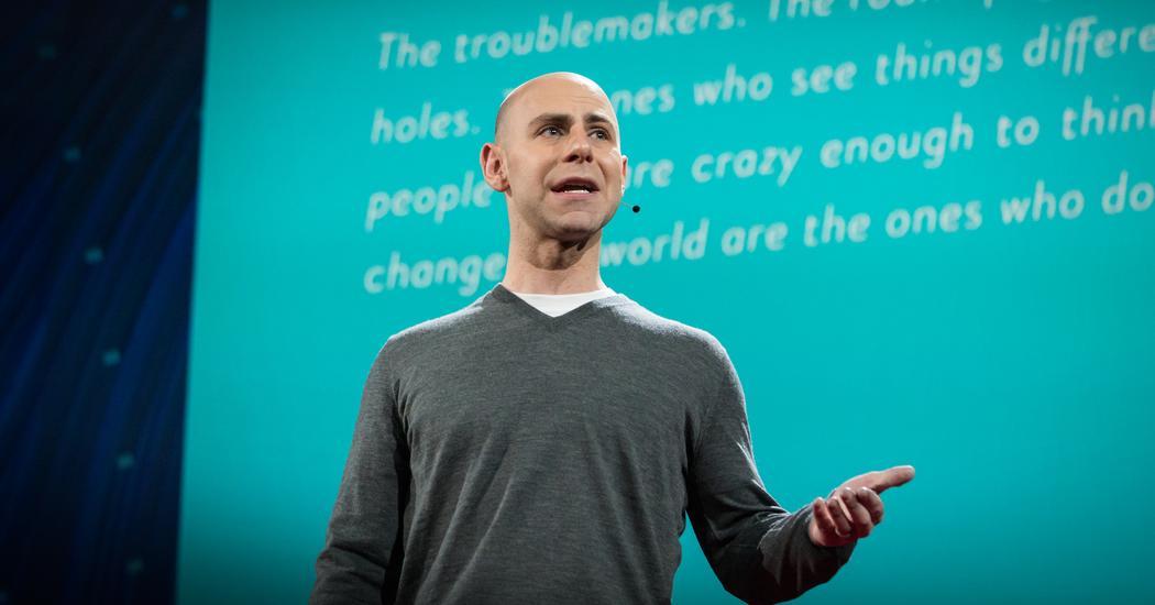 Adam Grant: The surprising habits of original thinkers | TED Talk | TED.com