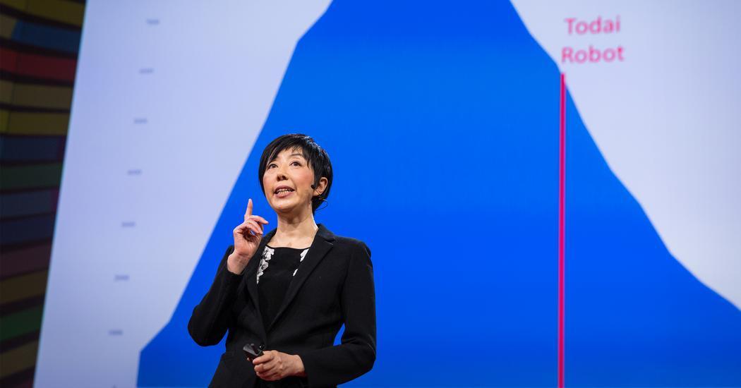 [TED演講]人工智慧可以通過指考/高考/聯招等入學考試嗎?