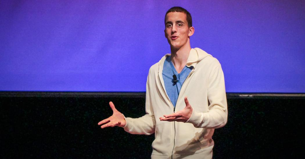 Kevin Breel Confessions Of A Depressed Comic Ted Talk