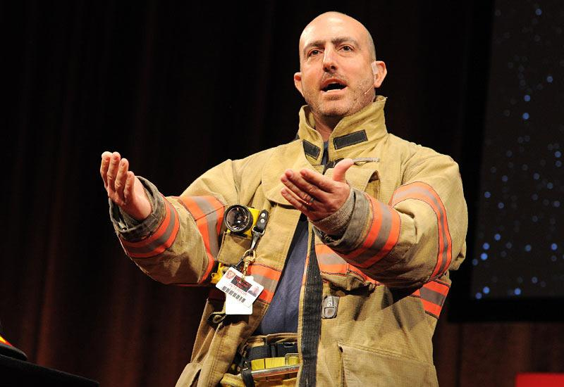 A life lesson from a volunteer firefighter