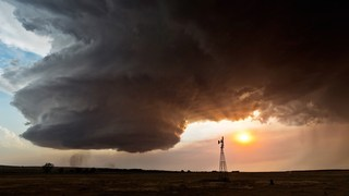 Photos from a storm chaser