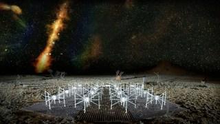 چگونه تلسکوپ های رادیویی به ما کهکشان های دیده نشده را نشان می دهند