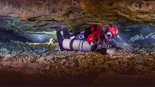 The mysterious world of underwater caves