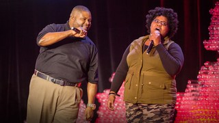 A beatboxing lesson from a father-daughter duo