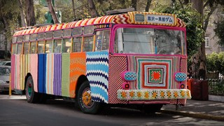 How yarn bombing grew into a worldwide movement