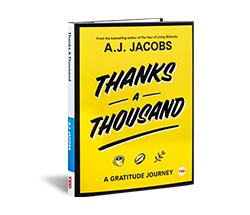 TED Book: Thanks a Thousand | TED Books library | TED