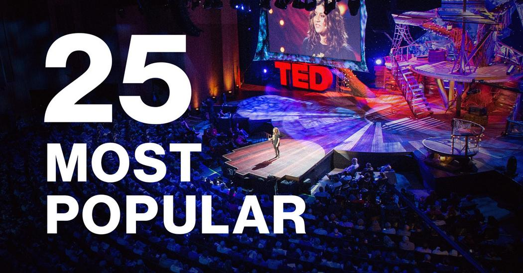 The most popular TED Talks of all time