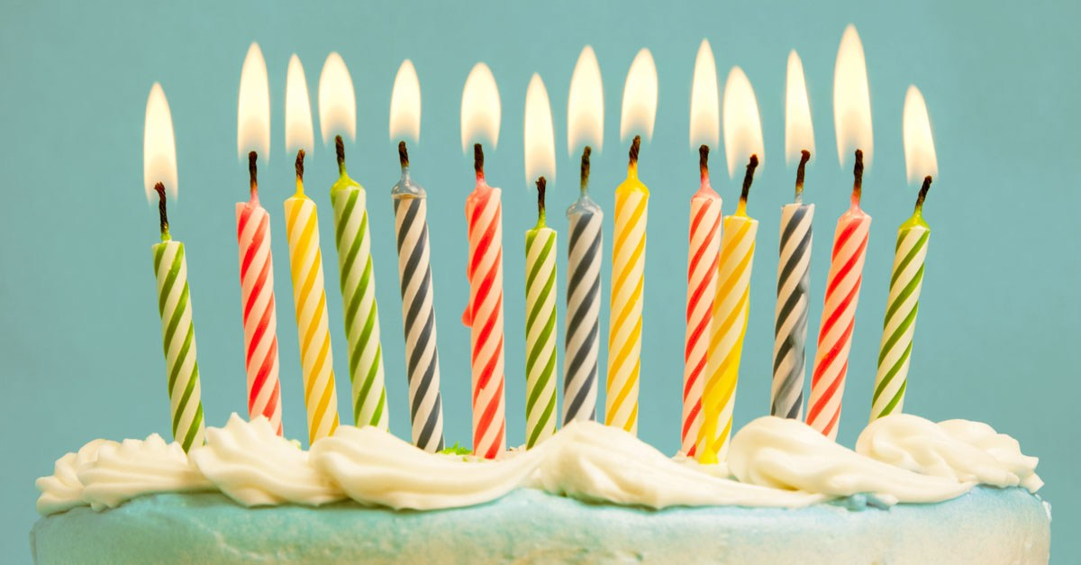talks to make you feel good about getting older the extra candles on the birthday cake