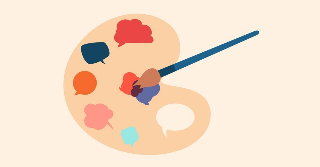 How art shapes conversation
