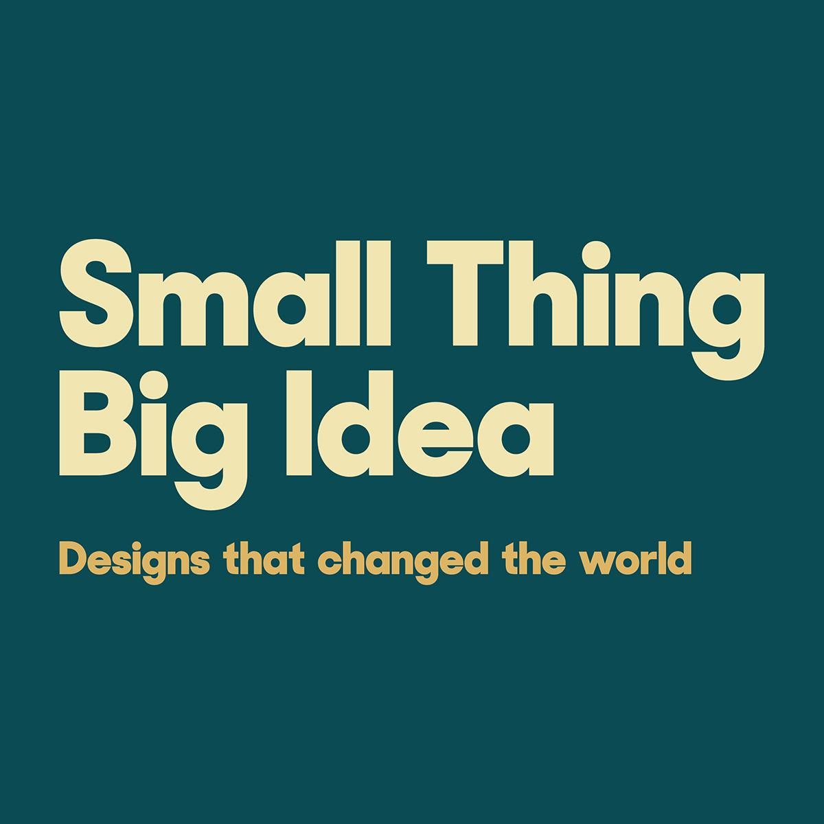 Small Thing Big Idea