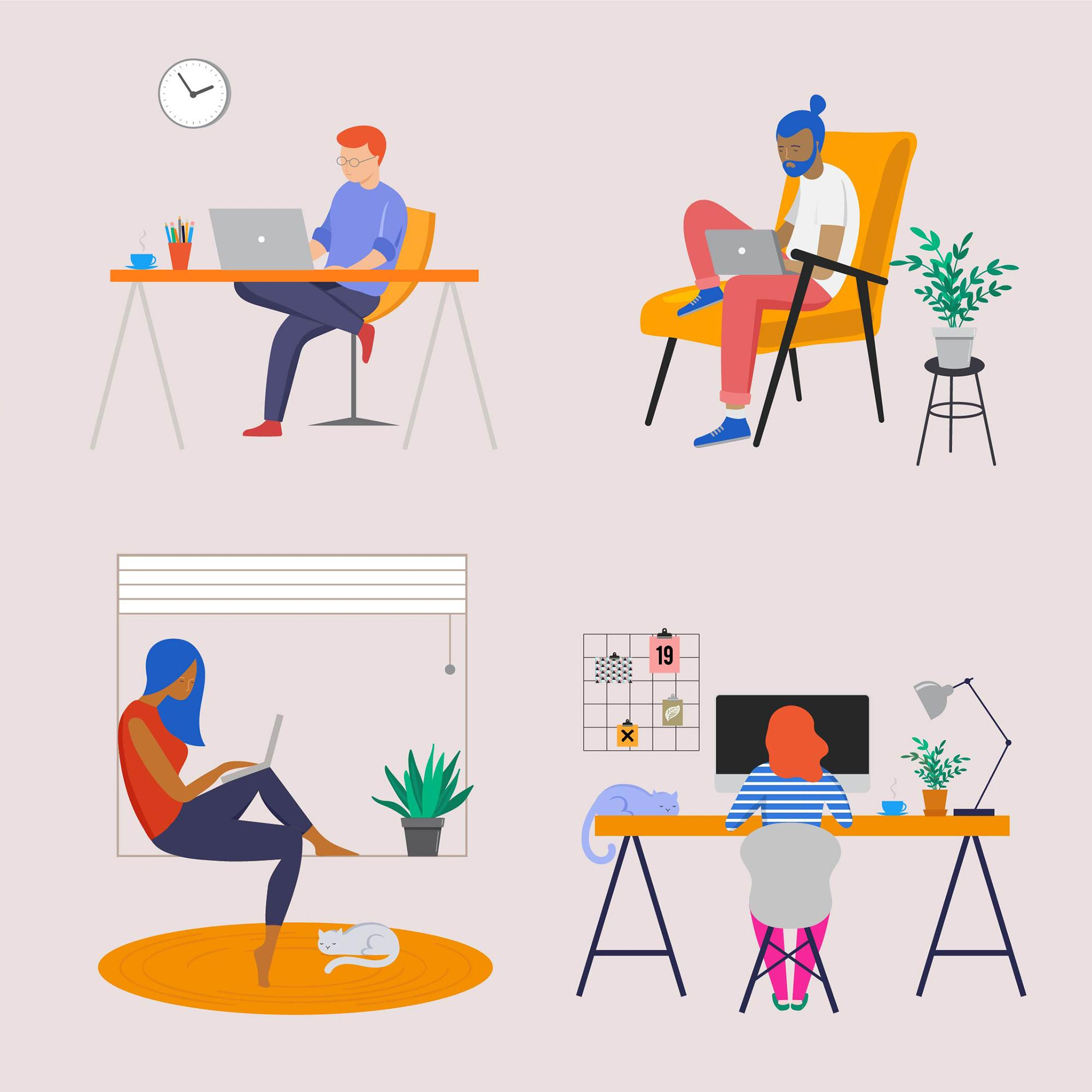 How To Get Into A Work From Home Mindset Ted Talks