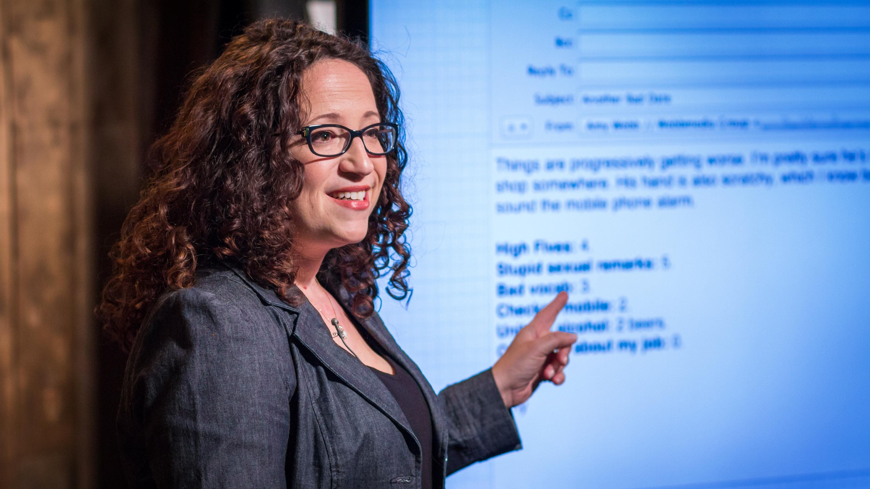 randki Ted Talk Lindzi Cox, z kim się spotyka