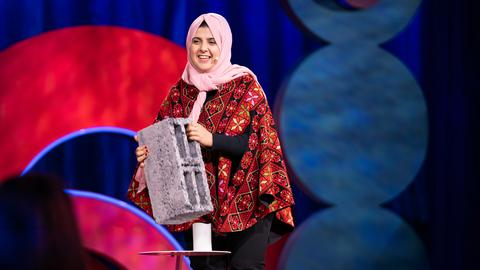 How I'm making bricks out of ashes and rubble in Gaza | Majd Mashharawi