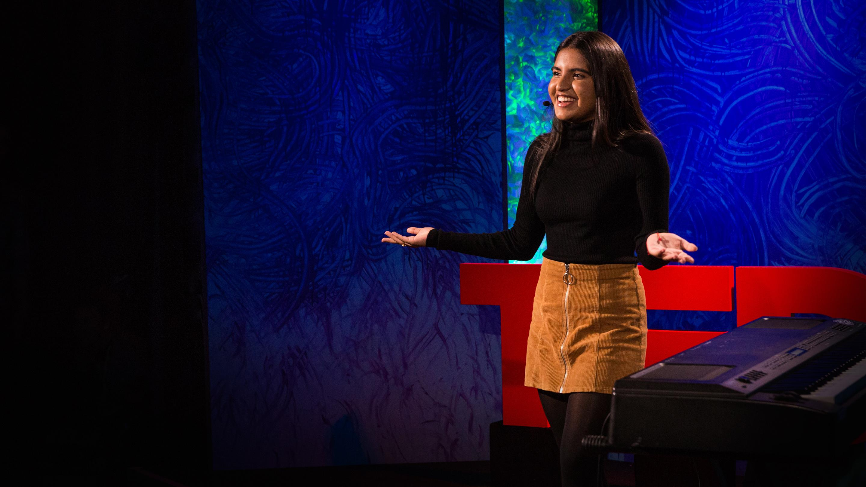 What it's like to have Tourette's -- and how music gives me back control | Esha Alwani